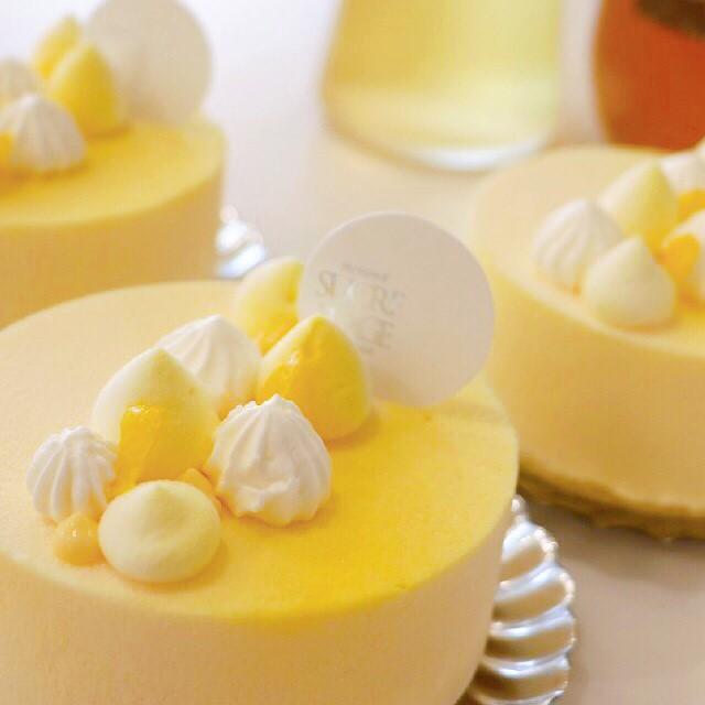 シュクレ・プラージュ様のケーキ